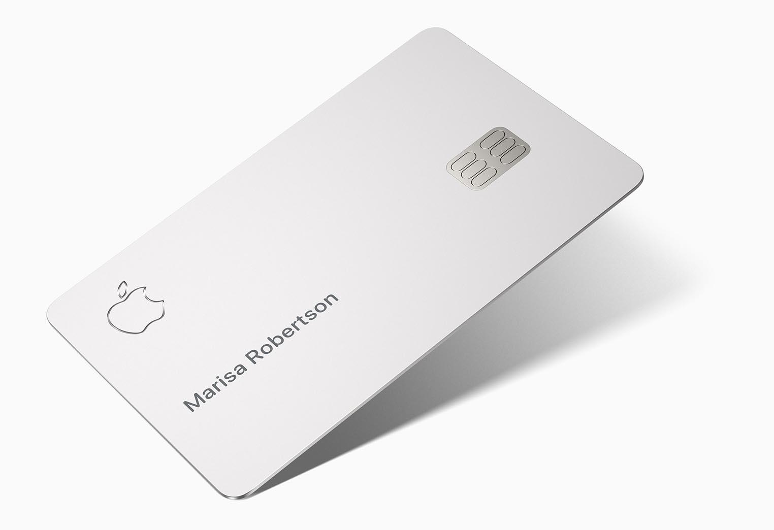 Carte Apple Card physique