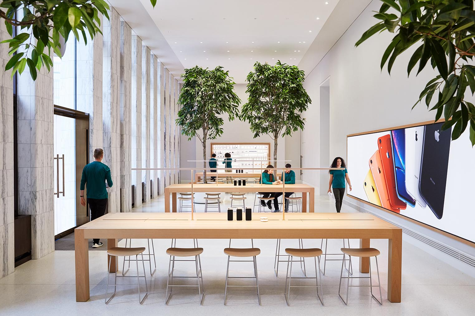 Apple Store Carnegie Library