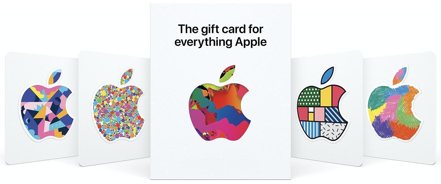 Carte cadeau Apple 2020