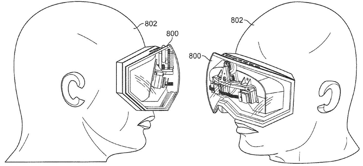 Casque réalité virtuelle Apple brevet