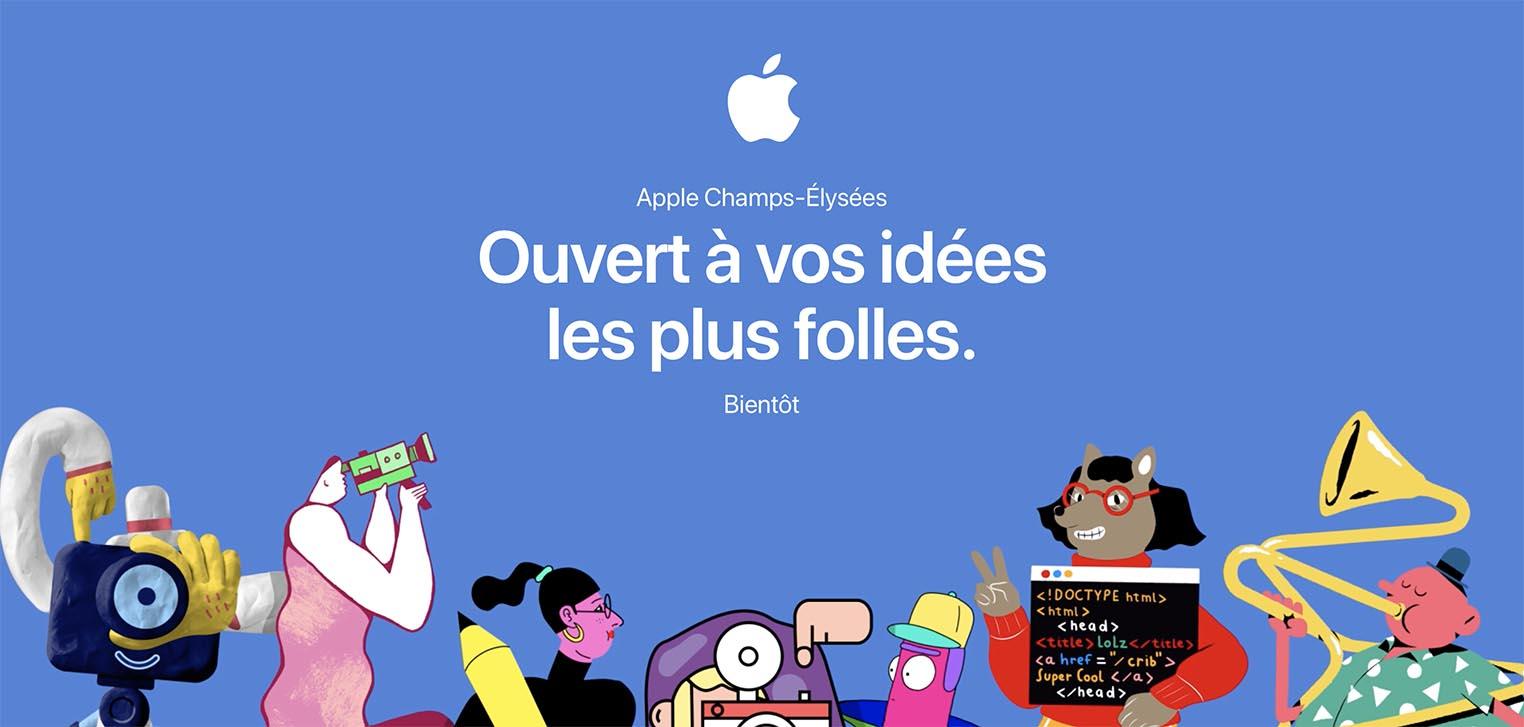 Apple Champs-Élysées site web