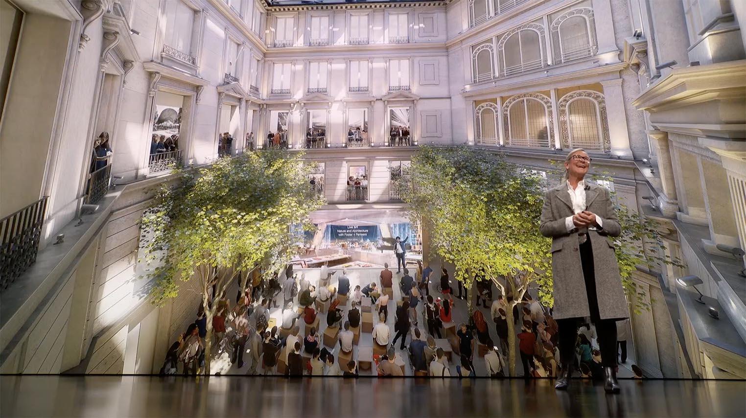 Apple Store Champs Élysées Angela Ahrendts