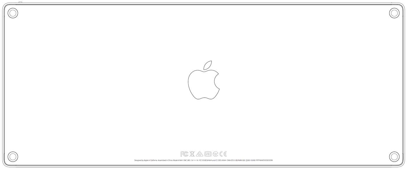 Clavier Apple 2015 FCC