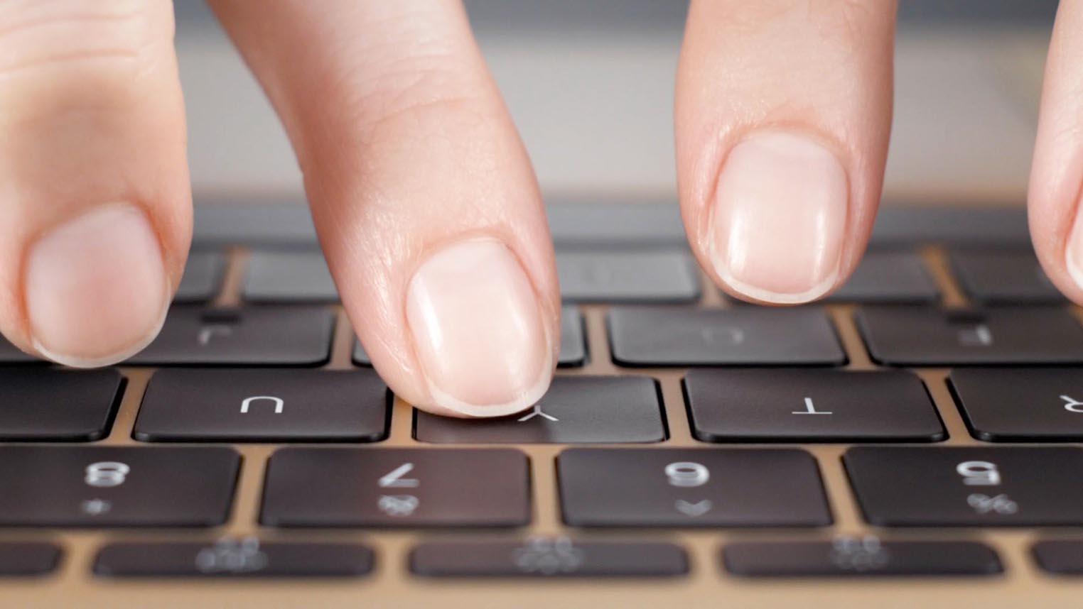Apple clavier papillon