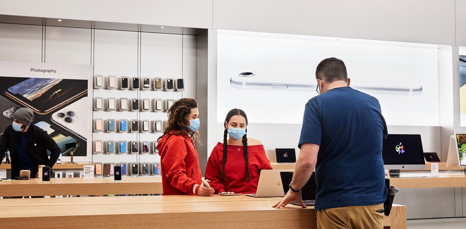 Réouverture Apple Stores COVID-19
