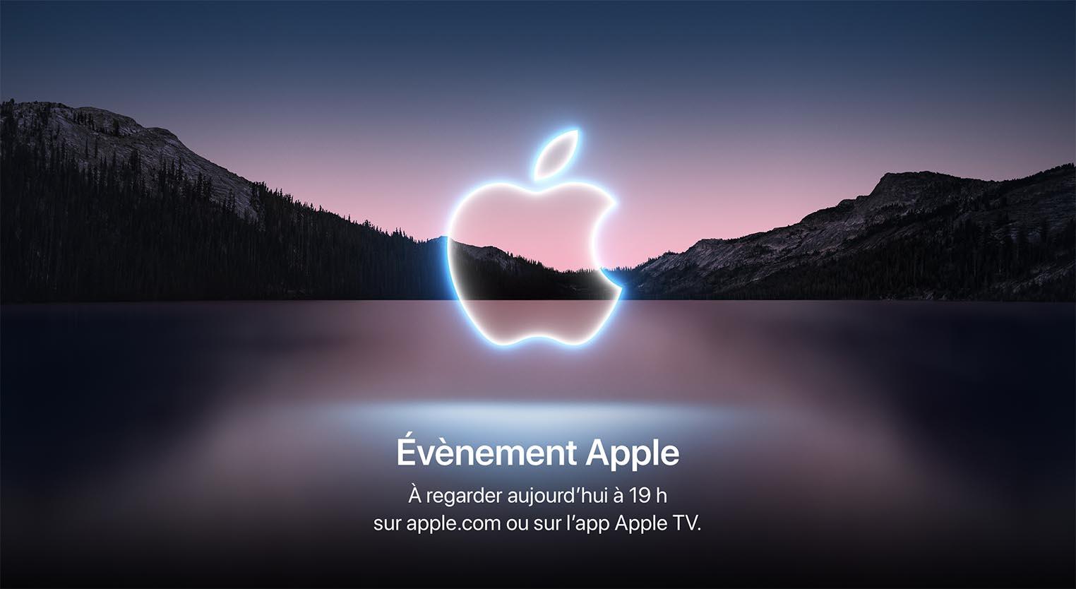Apple Event 14 septembre 2021