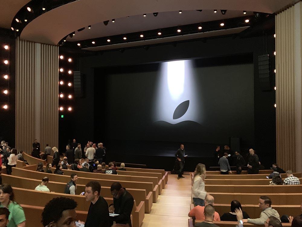 Steve Jobs Theater 25 mars 2019