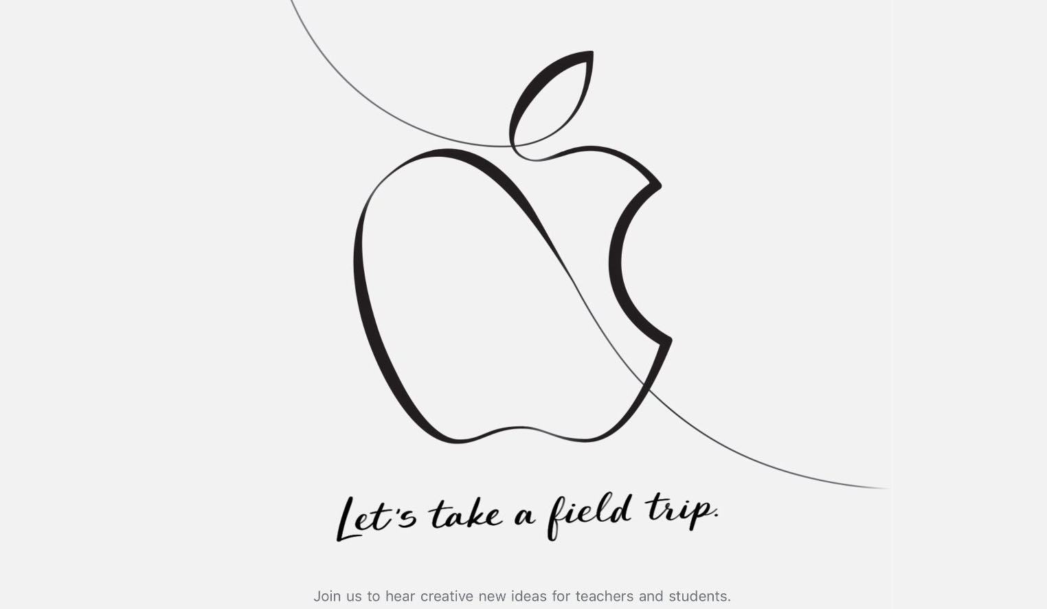 Apple Event 27 mars 2018