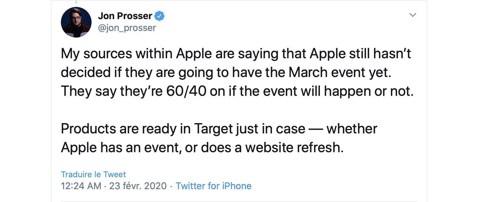 Apple Event Jon Prosser