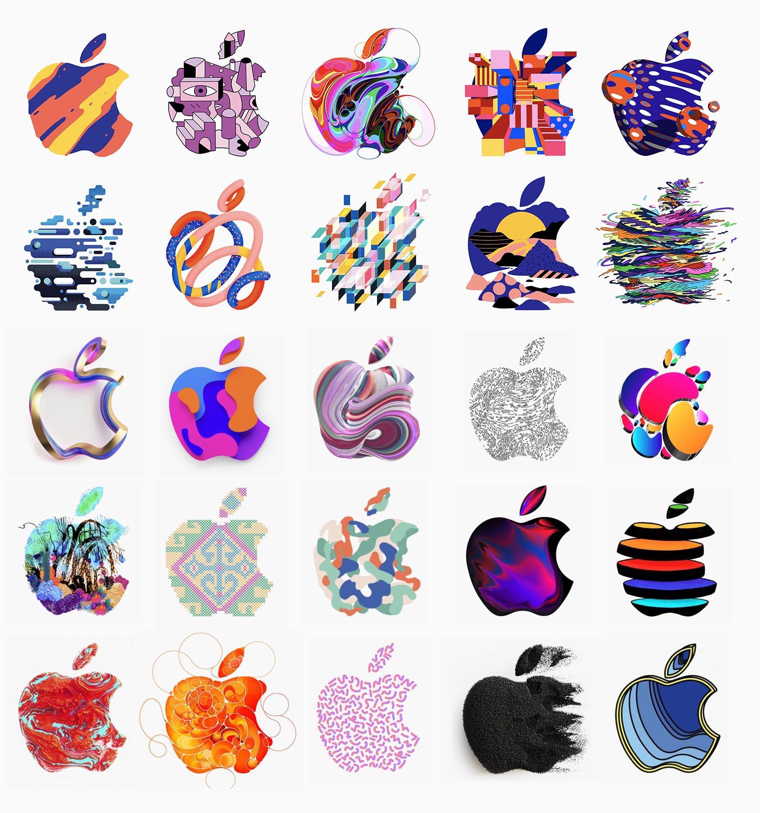 Apple Event Octobre 2018 logos