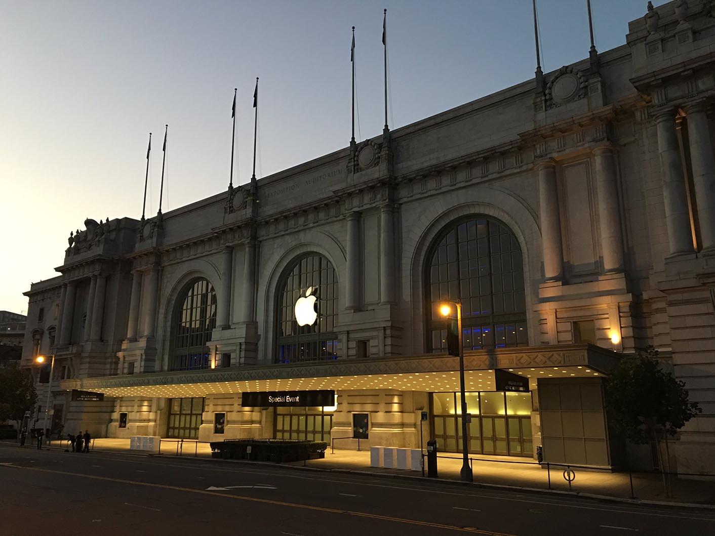 Apple Event Bill Graham Civic Auditorium
