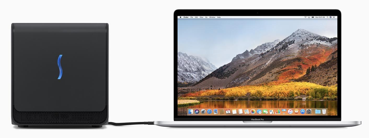 Apple external GPU Sonnet