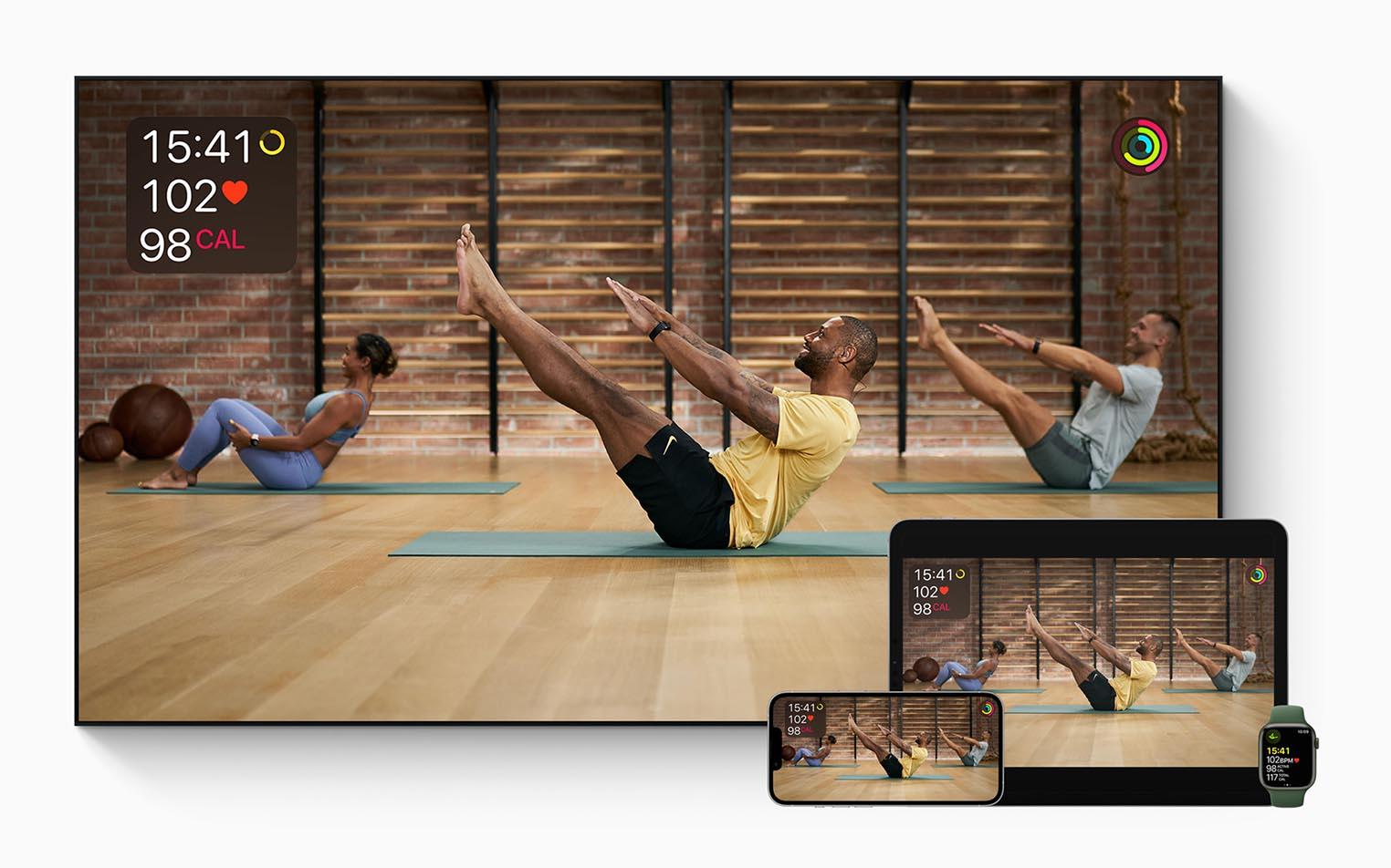 Apple Fitness+ sera lancé en France le 3 novembre