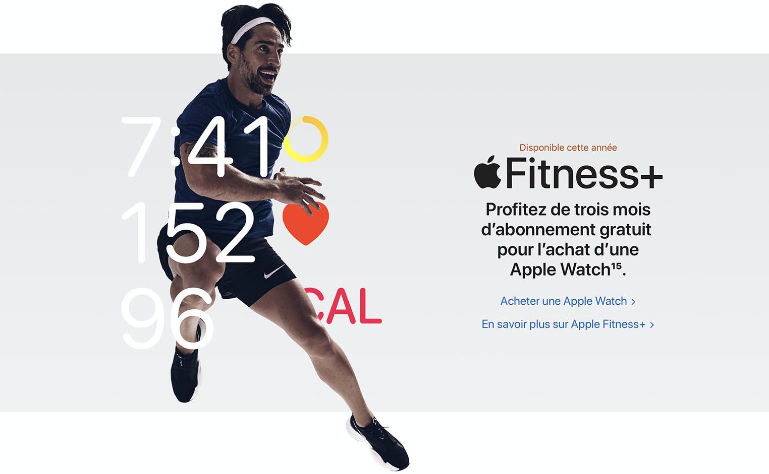 Apple Fitness+ France