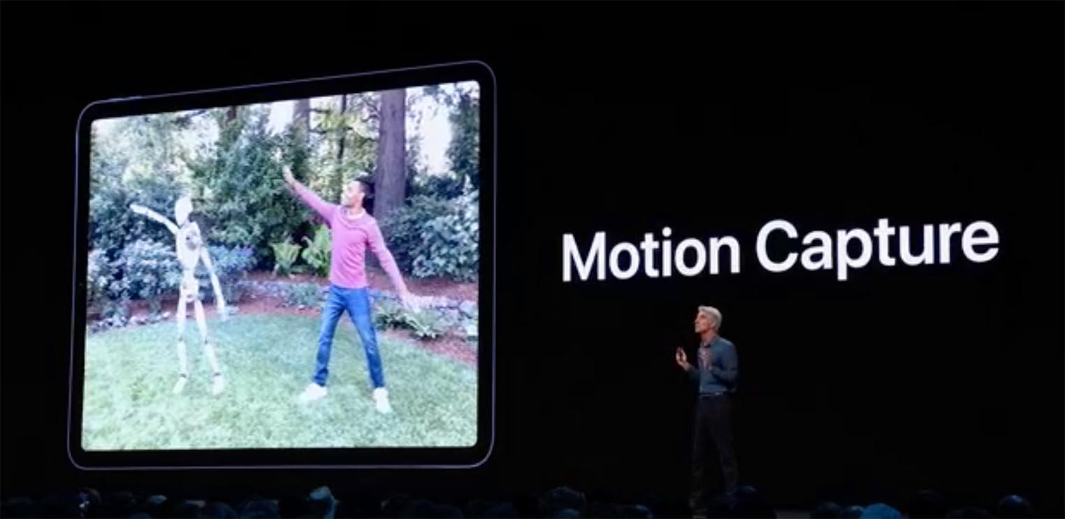 ARKit Motion Capture