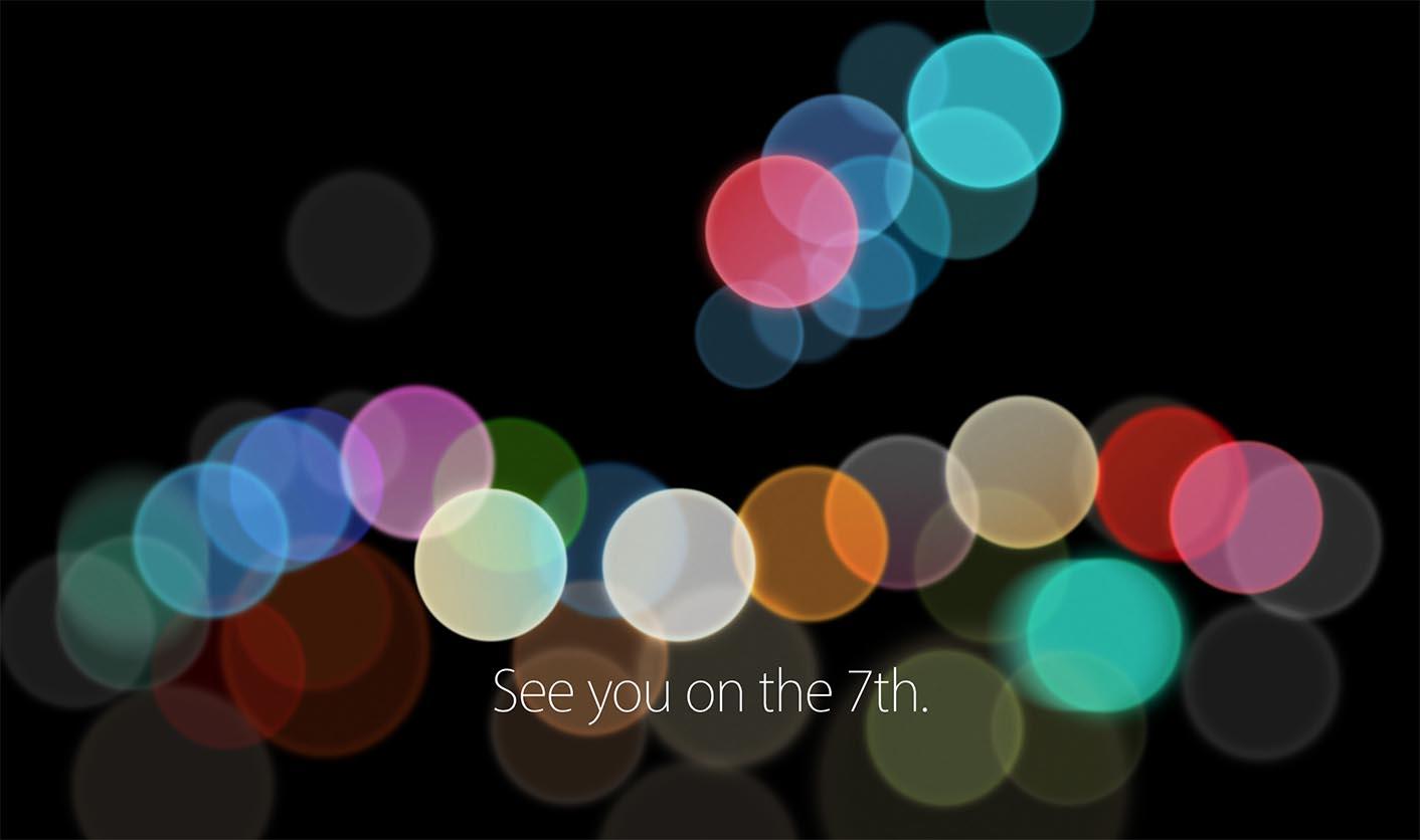 Apple Event Septembre 2016