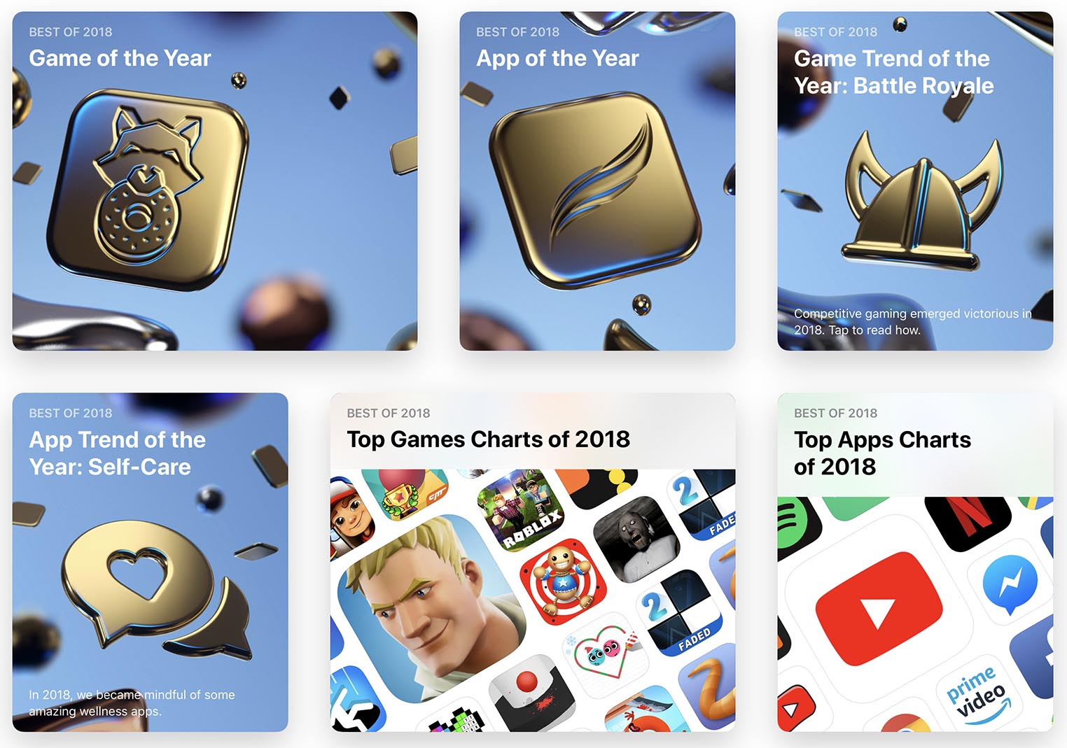 Apps of the year 2018 Apple