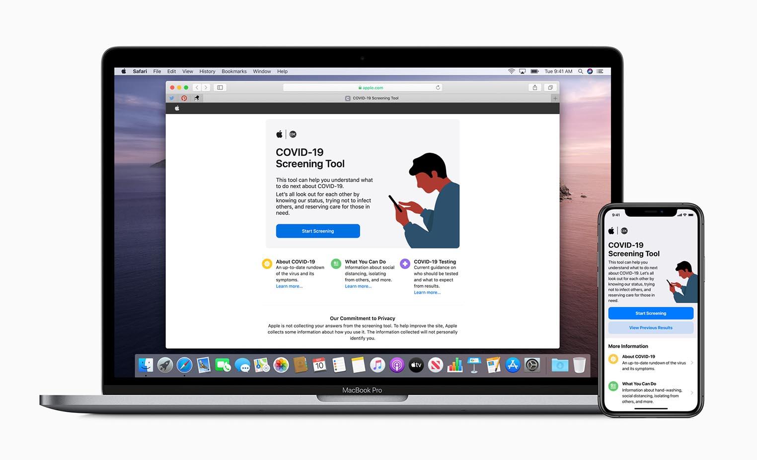 Apple site coronavirus