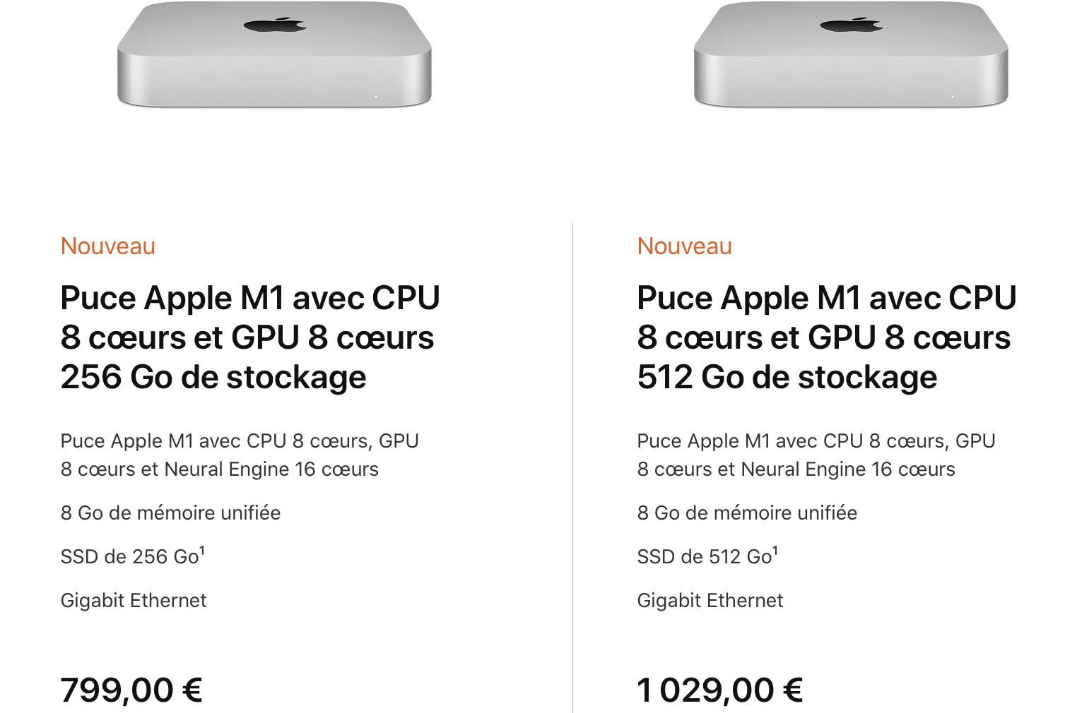 Apple M1 Mac mini