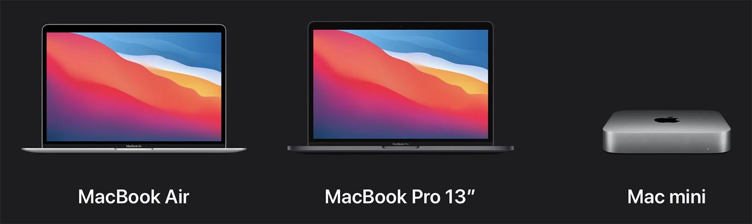 Macs Apple M1