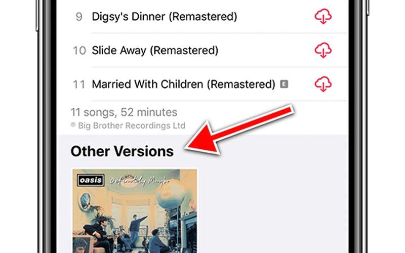 Apple Music classe les albums plus intelligemment