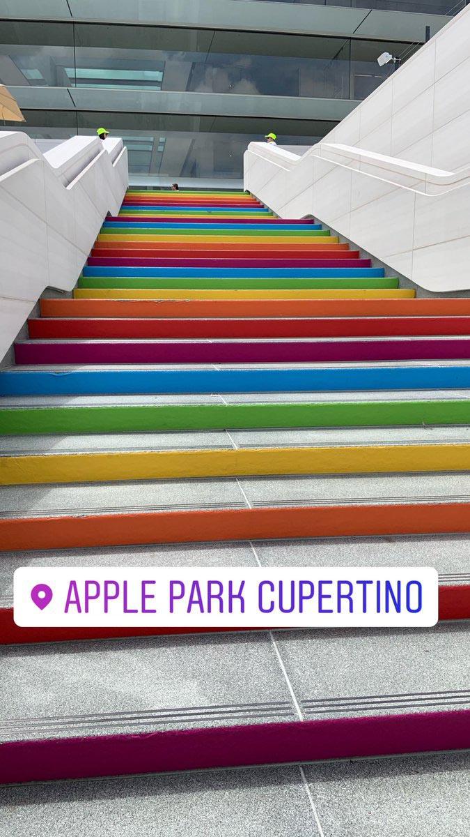 Apple Park inauguration
