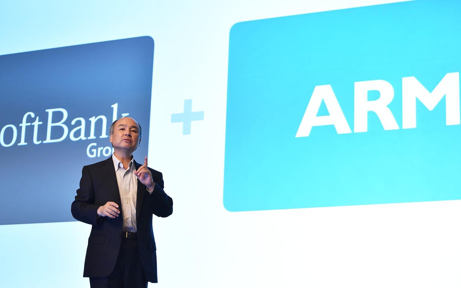 Softbank ARM Masayoshi Son