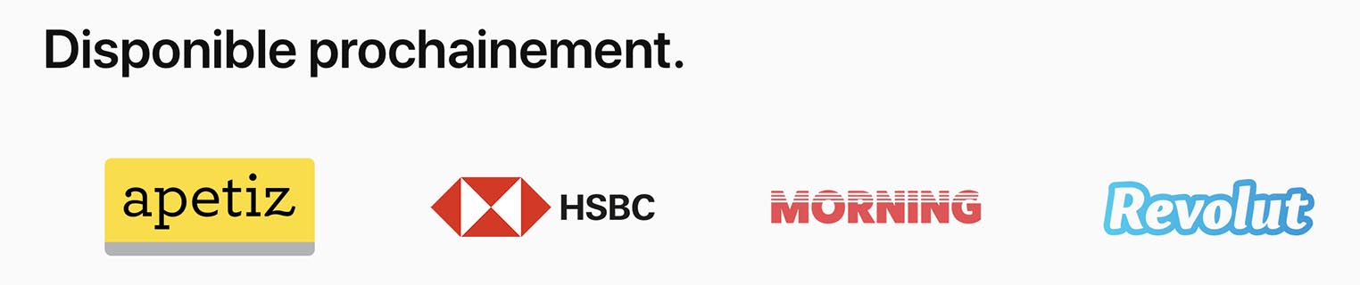Apple Pay HSBC Apetiz