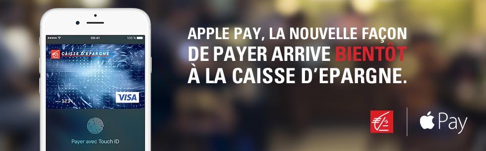 Apple Pay caisse d'épargne