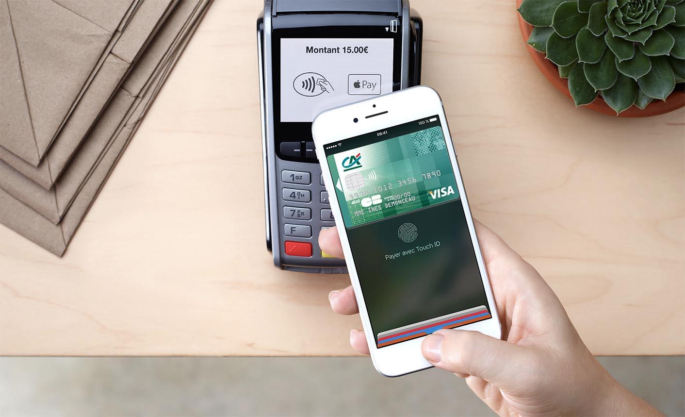 Apple Pay Crédit Agricole