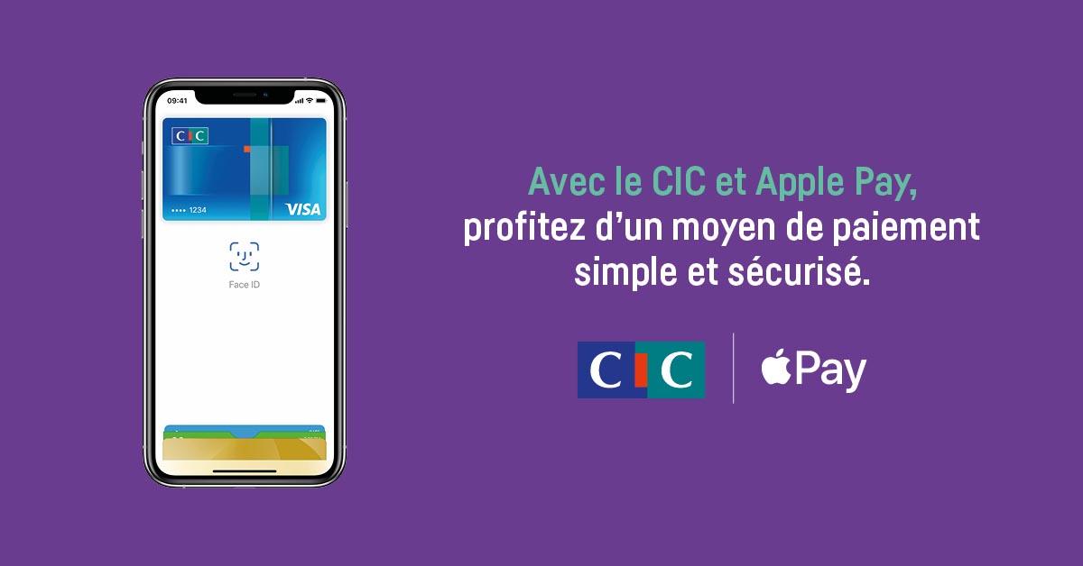 Apple Pay prochainement Crédit Mutuel CIC