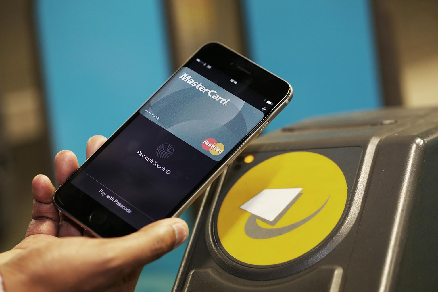 Apple Pay transports Londres
