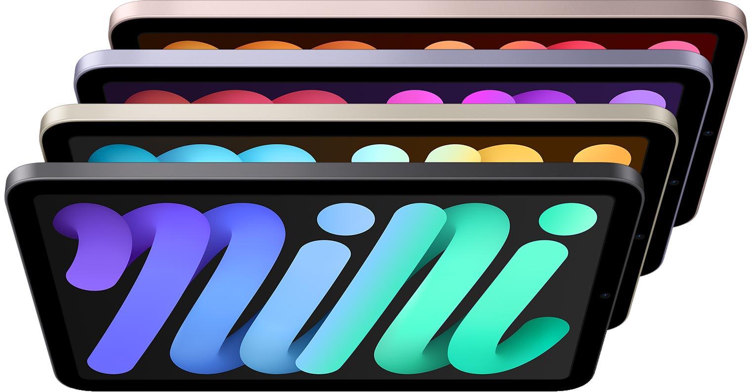 iPad mini 6 couleurs
