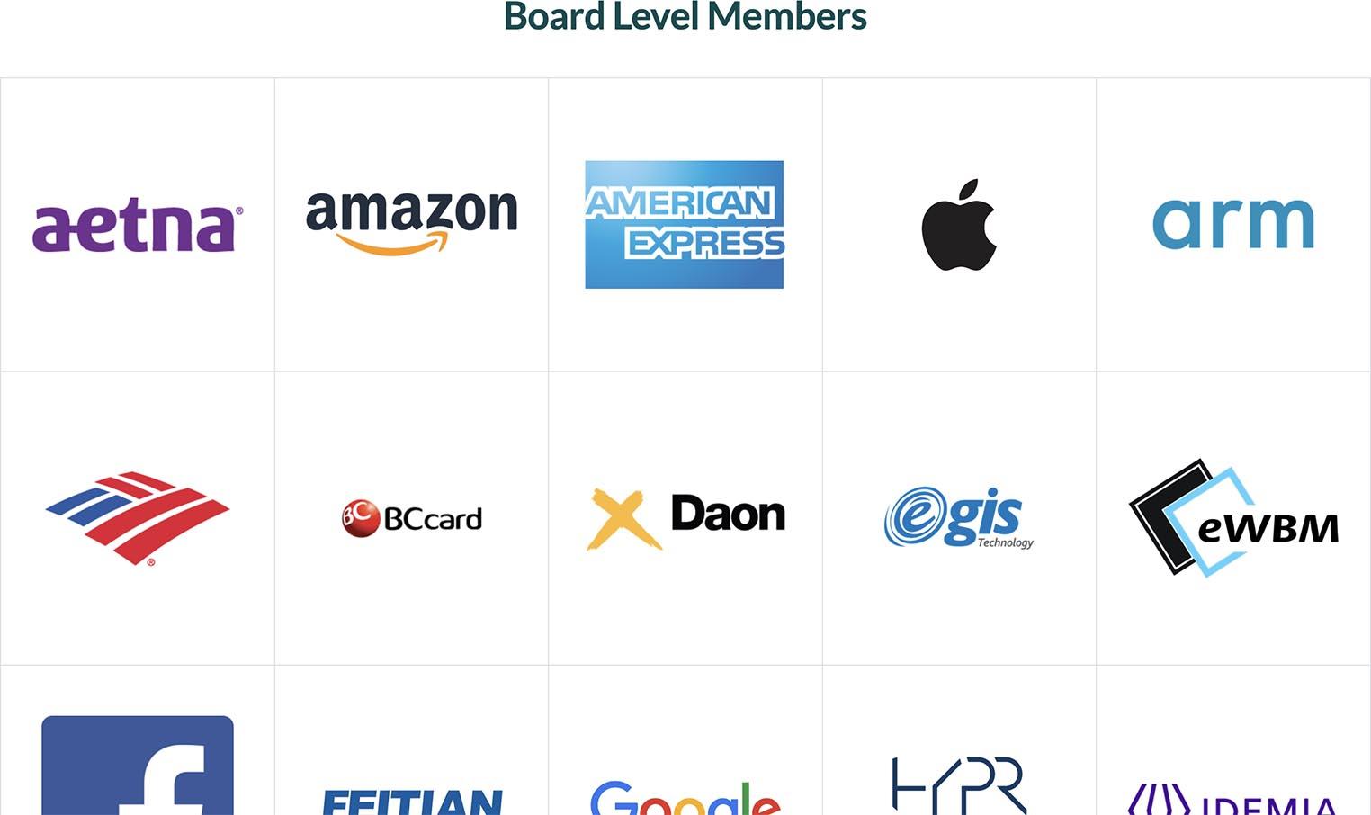 Apple FIDO Alliance member