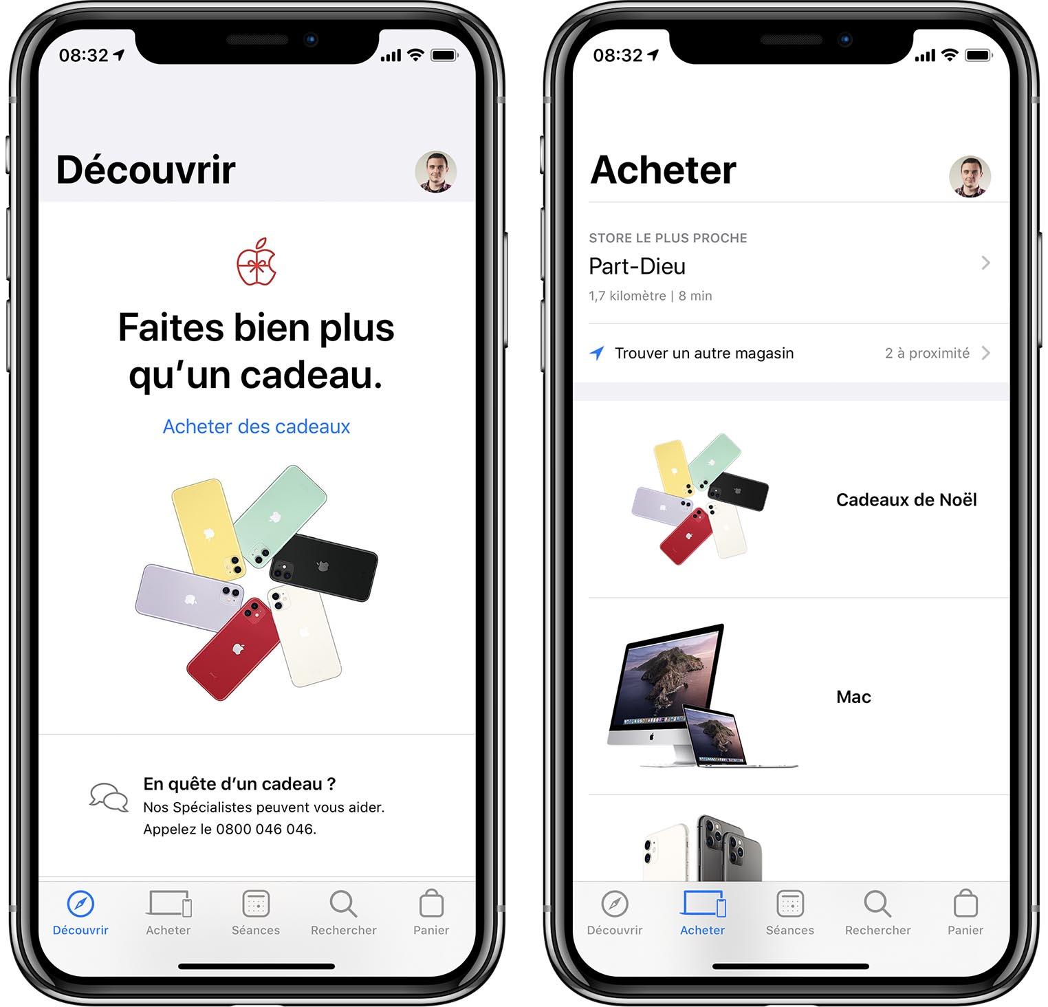 App Apple Store avant