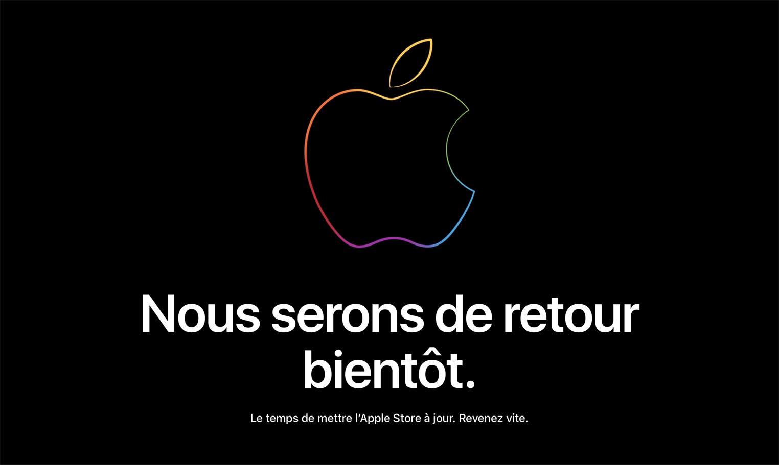Apple Store fermé 2018