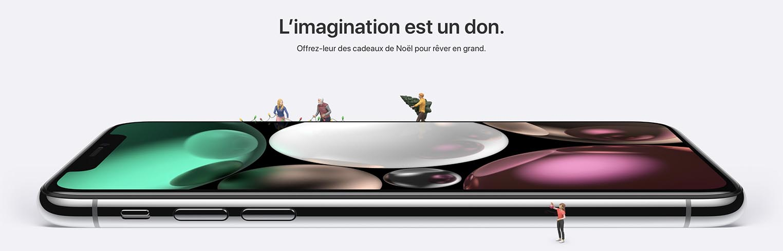 Apple Store Noël 2017