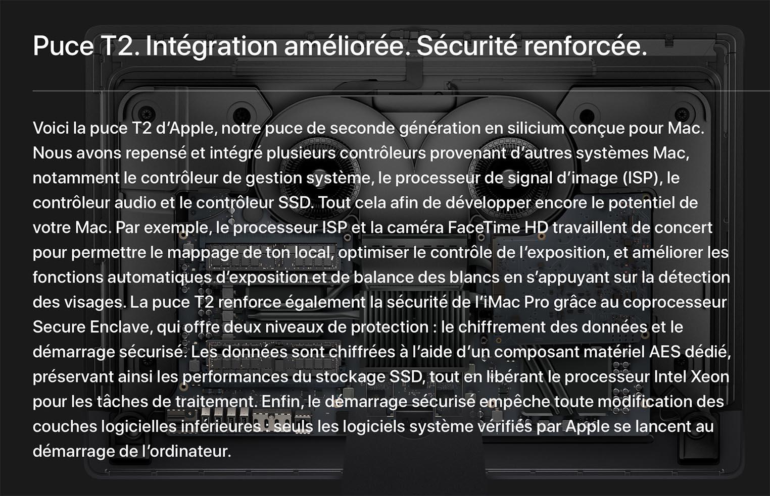 Apple T2 Explications