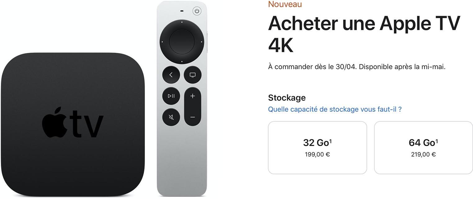 Apple TV 4K Apple Store