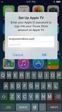 iBeacons Apple TV iPhone
