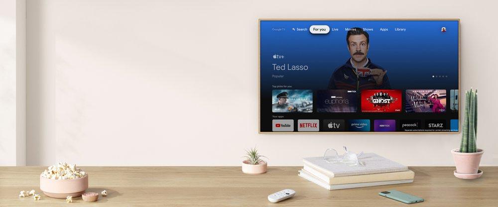 Apple TV app Chromecast avec Apple TV
