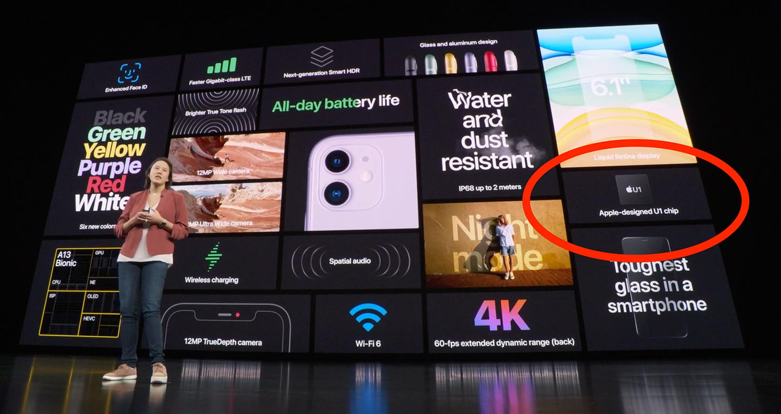 Apple U1 keynote