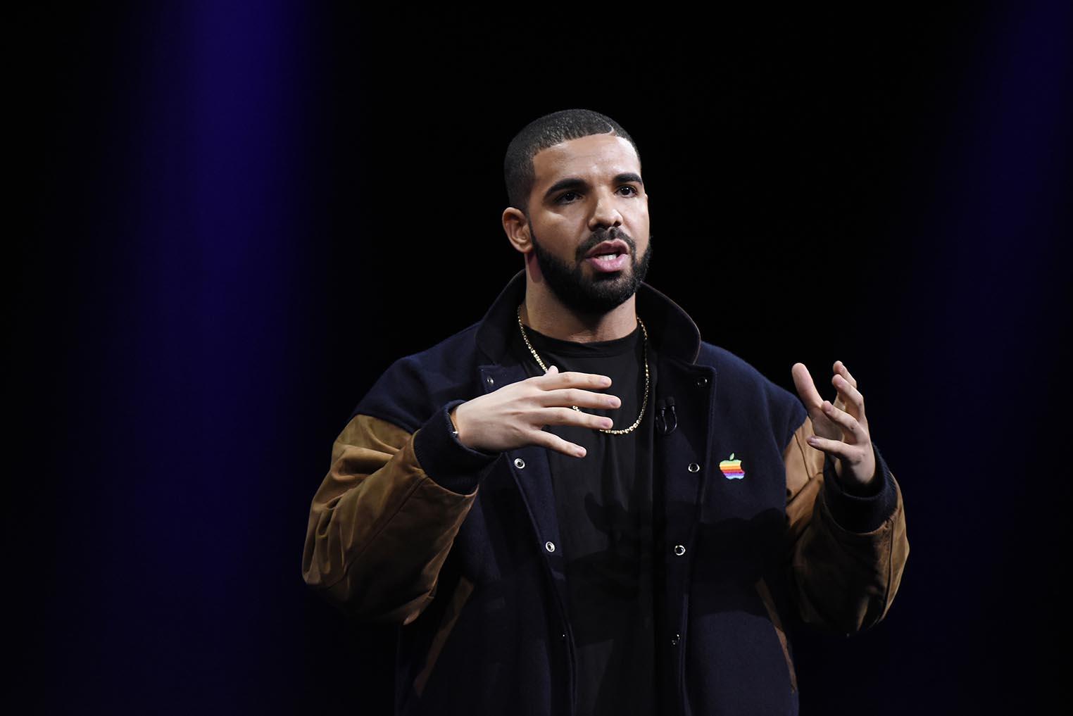 Apple Music keynote Drake