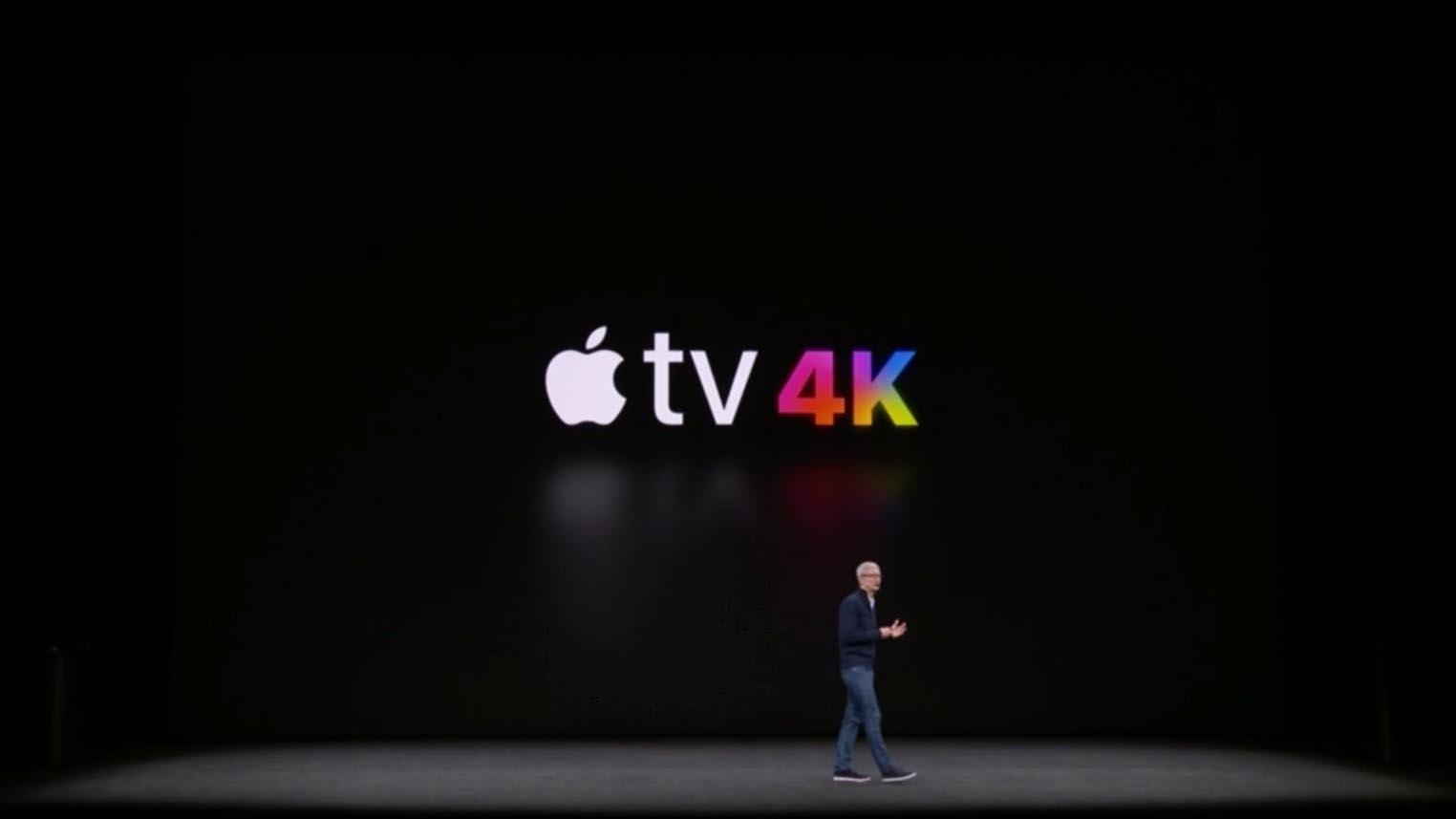 Apple TV 4K keynote