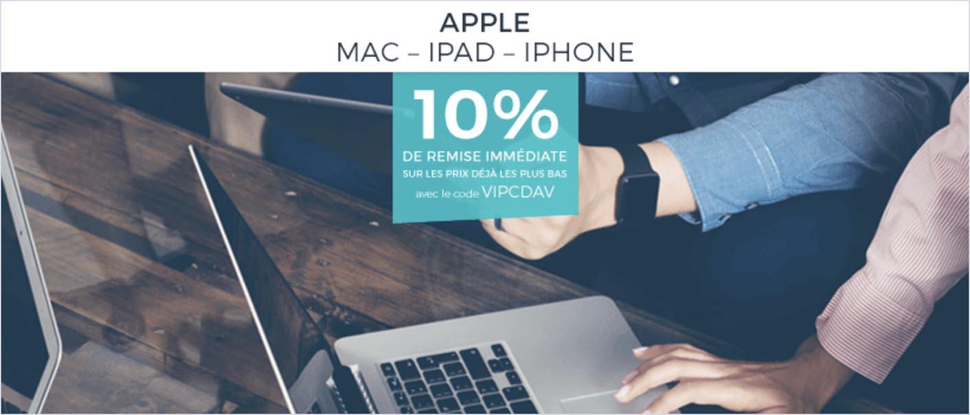 VIPCDAV promo Apple CDiscount