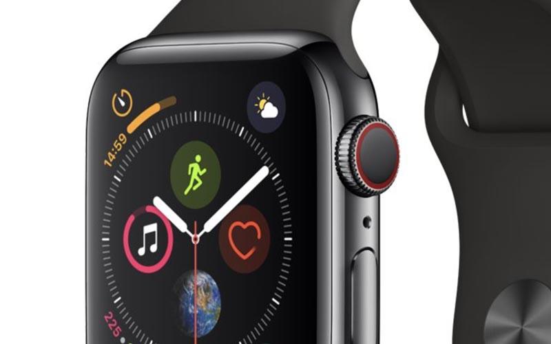 Une Apple Watch Series 4 cellulaire à 329 €
