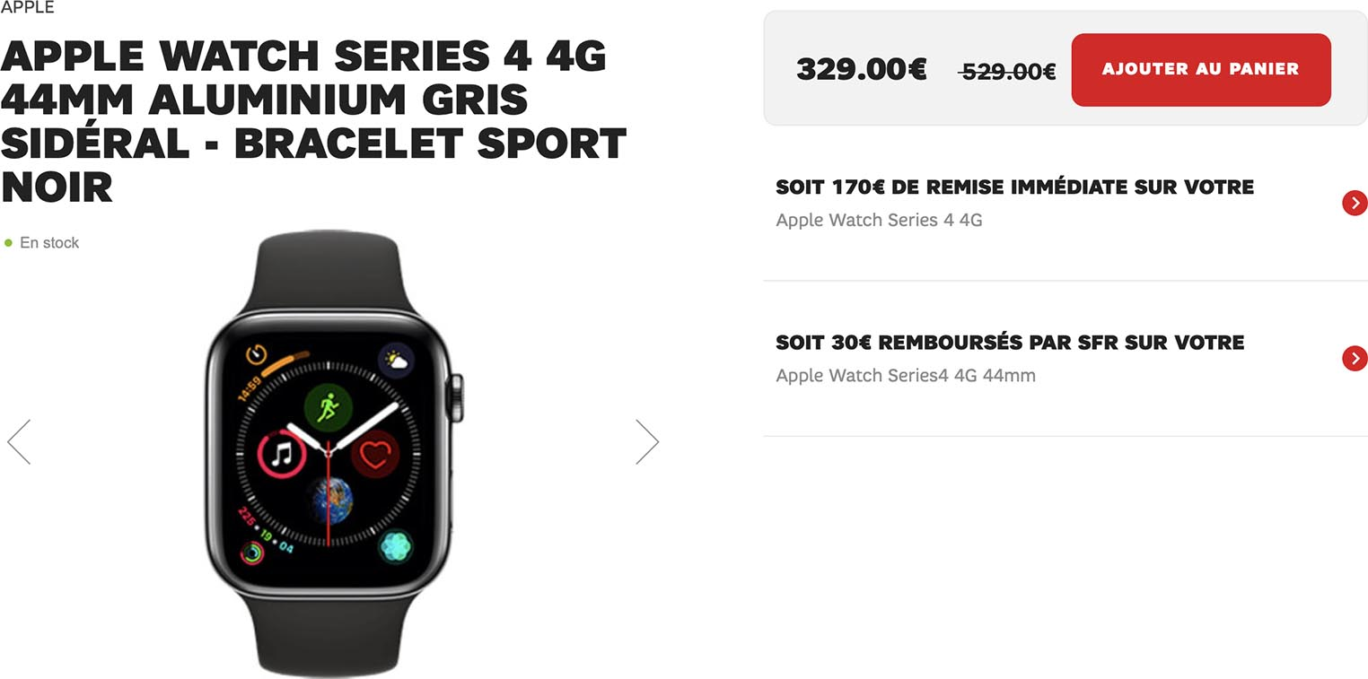 Apple Watch Series 4 4G