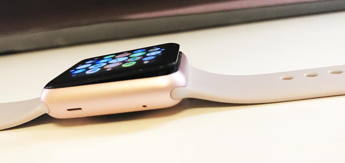 Apple Watch batterie gonflée