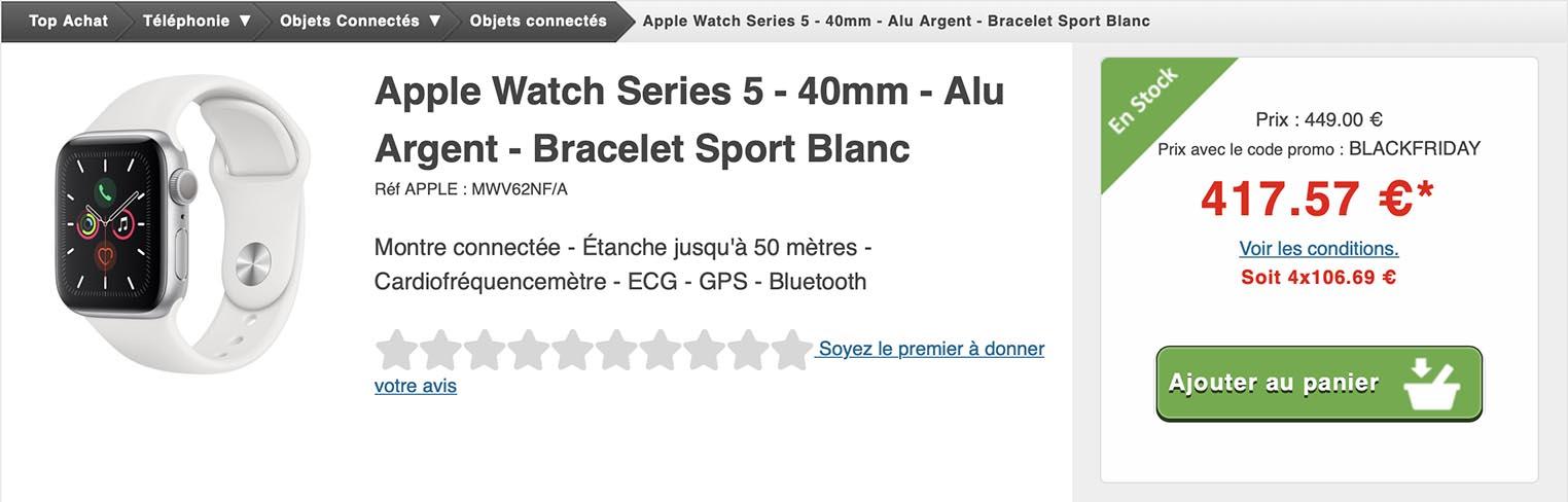 Apple Watch Series 5 Top Achat