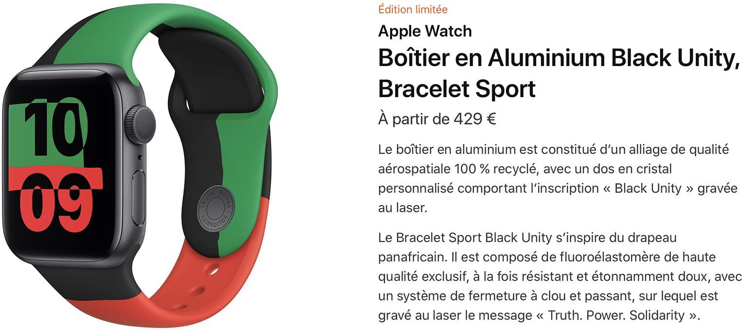 Apple Watch Black Unity Apple Store